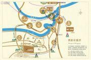 鲁能南渝星城交通图