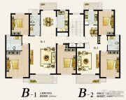 尚京新城3室2厅1卫129平方米户型图