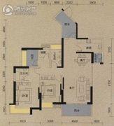 保利国际城翡丽湾3室2厅2卫139平方米户型图