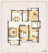 梧桐蓝山3室2厅2卫0平方米户型图