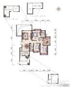 经典天成云墅4室2厅2卫0平方米户型图