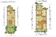 恒大上林苑5室4厅5卫190平方米户型图