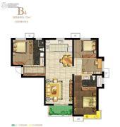 保利・心语花园4室2厅2卫130平方米户型图