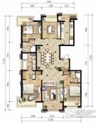 龙湖长楹天街4室2厅3卫190平方米户型图