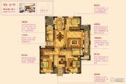 宇诚逸龙湾4室2厅2卫139--143平方米户型图