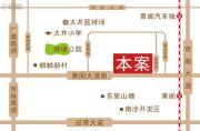 麒麟广场交通图