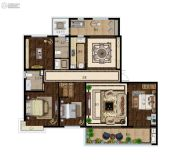 意林・国际公园4室2厅2卫188平方米户型图