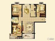 锦绣江南3室2厅1卫119平方米户型图