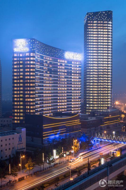 远洋壹中心夜景图